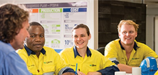 Wesfarmers Resources makes safety conversations part of day to day life at work