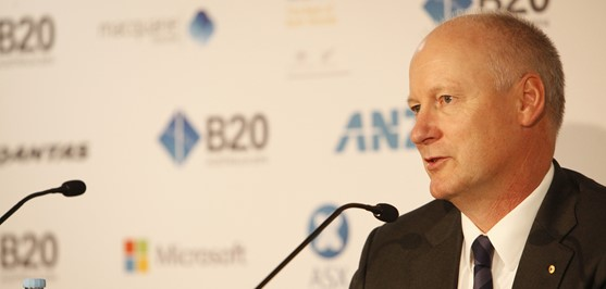 Wesfarmers Managing Director Chairs the B20