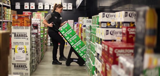 Coles Liquor introduces a safer approach to beverage handling