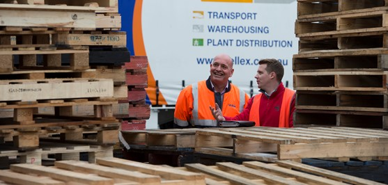 Bunnings timber pallet recycling