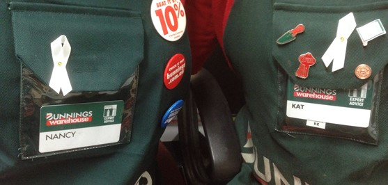 Bunnings supports women's refuges